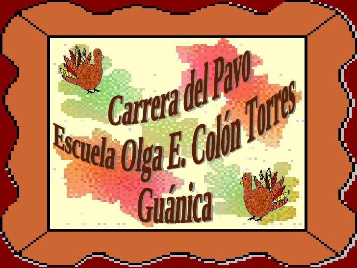 Carrera del Pavo Escuela Olga E. Colón Torres Guánica