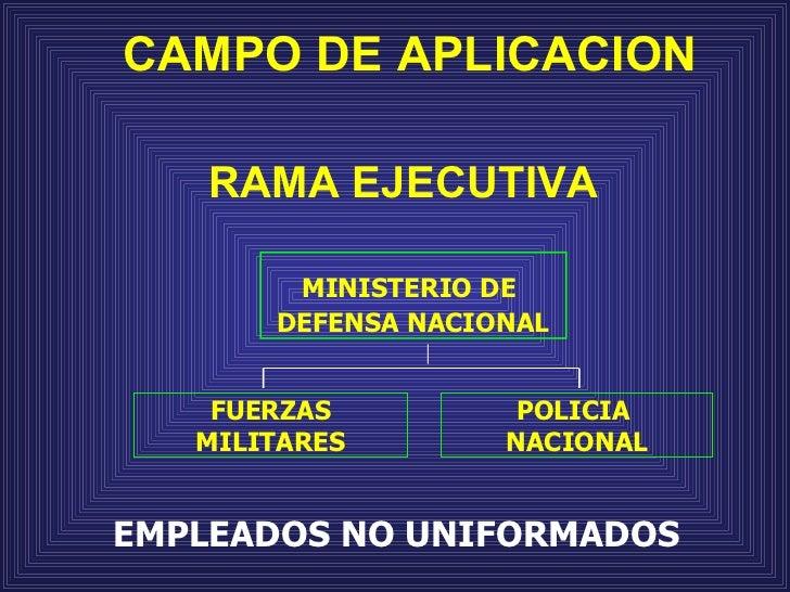 Carrera administrativa for Ministerio policia nacional