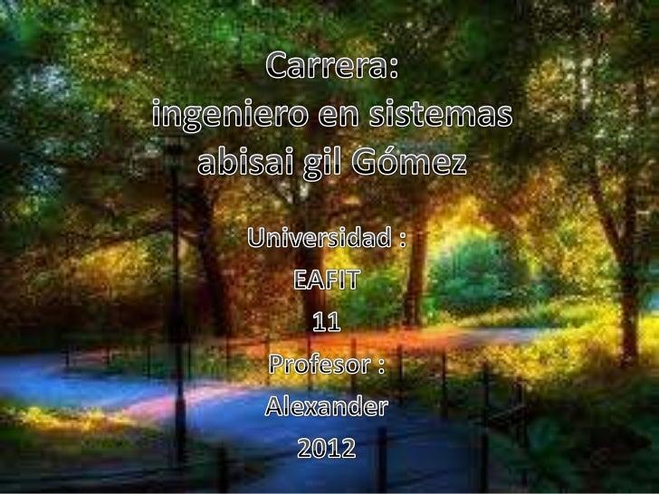 Materias Obligatorias del Ciclo Formativo•   5 semestre•   ISFMES Matemáticas Especiales•   ISFMDI Matemáticas Discretas• ...