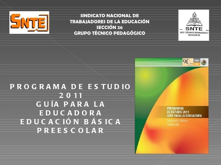 SINDICATO NACIONAL DE               TRABAJADORES DE LA EDUCACIÓN                         SECCIÓN 26                 GRUPO ...