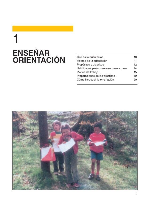 1ENSEÑAR       Qué es la orientación                     10ORIENTACIÓN   Valores de la orientación              Propósitos...
