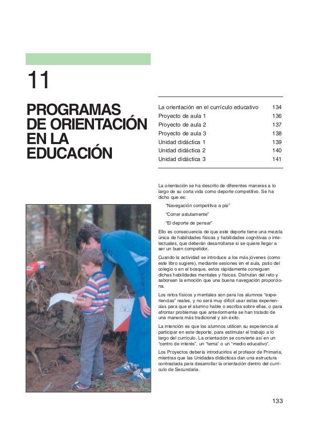 11PROGRAMAS        La orientación en el currículo educativo                 Proyecto de aula 1                            ...