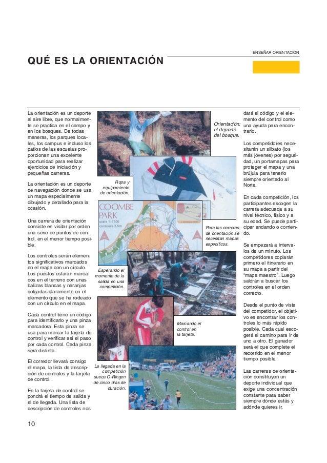 ENSEÑAR ORIENTACIÓNQUÉ ES LA ORIENTACIÓNLa orientación es un deporte                                                      ...