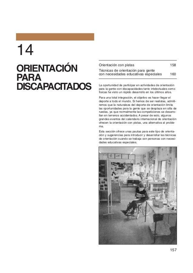 14                 Orientación con pistas                                  158ORIENTACIÓN      Técnicas de orientación par...