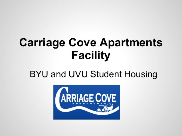 Carriage Cove ApartmentsFacilityBYU and UVU Student Housing