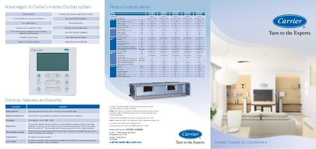 Carrier Ducted Brochure