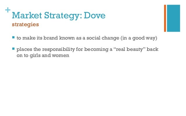 dove strtegies Dove- swot analysis - download as word doc (doc),  dove's marketing strategy should plan for continued momentum of  advertising strtegies questionnaire.