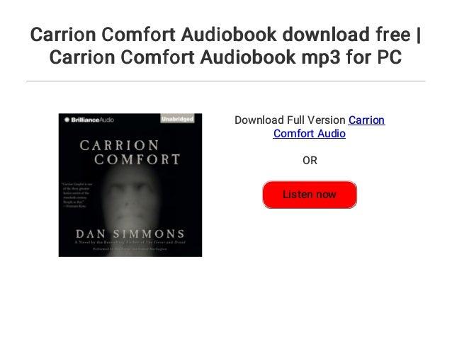 Carrion Comfort Audiobook Download Free Carrion Comfort Audiobook M
