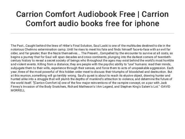 Carrion Comfort Epub