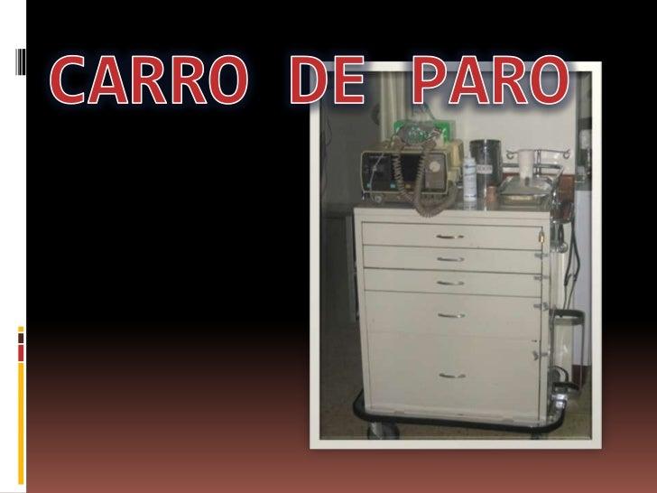 CARRO DE PARO<br />