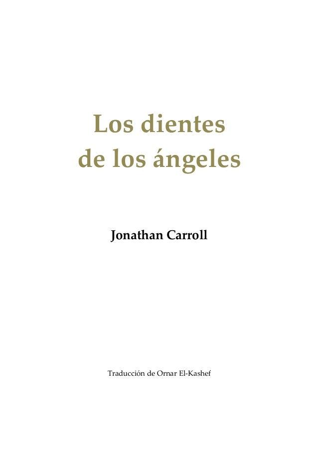 Carroll, jonathan los dientes de los ángeles