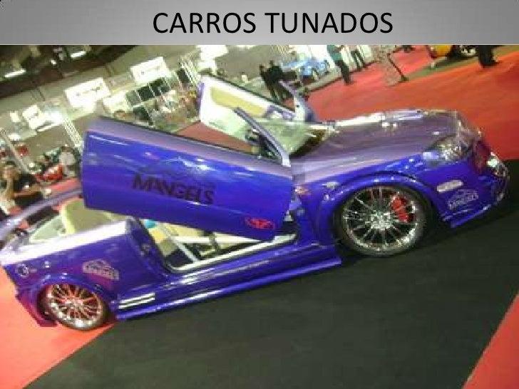 CARROS TUNADOS<br />