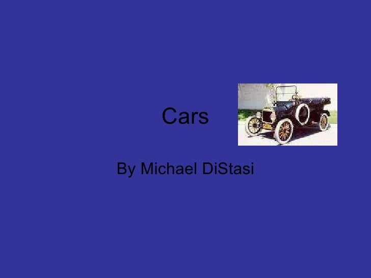 Cars By Michael DiStasi
