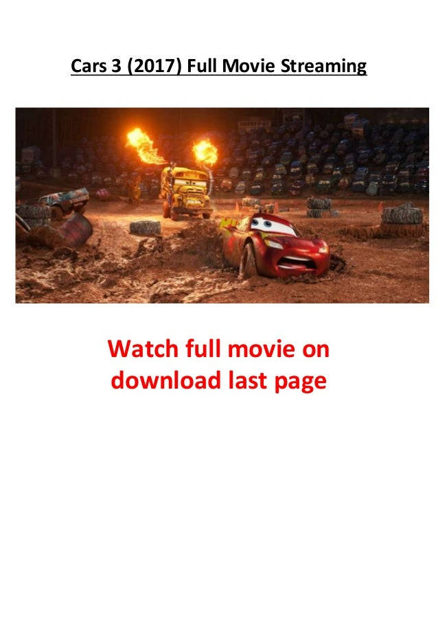 Cars  Full Movie Free Online Streaming