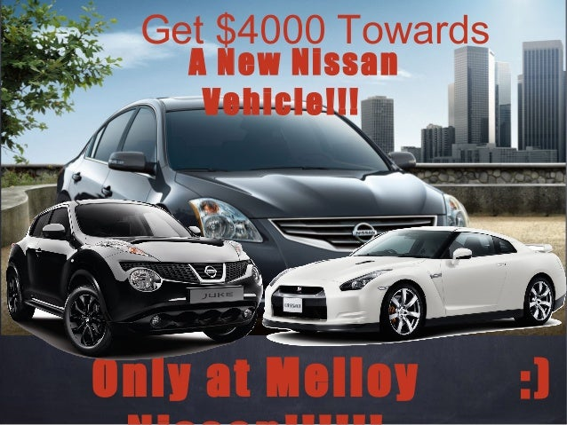Cash For Clunkers Ca >> Cash For Clunkers! And Huge Savings At Melloy Nissan!