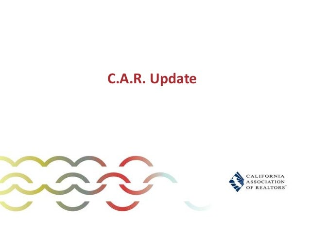 C.A.R. Update