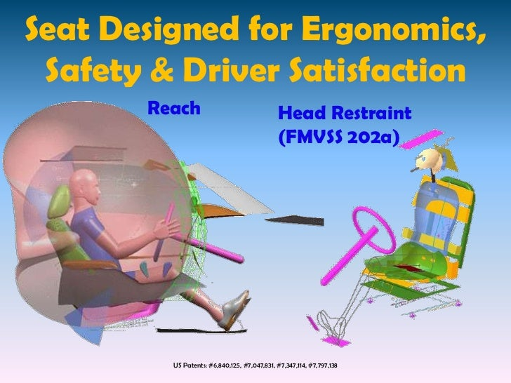 Car Seat Design For Driver Satisfaction