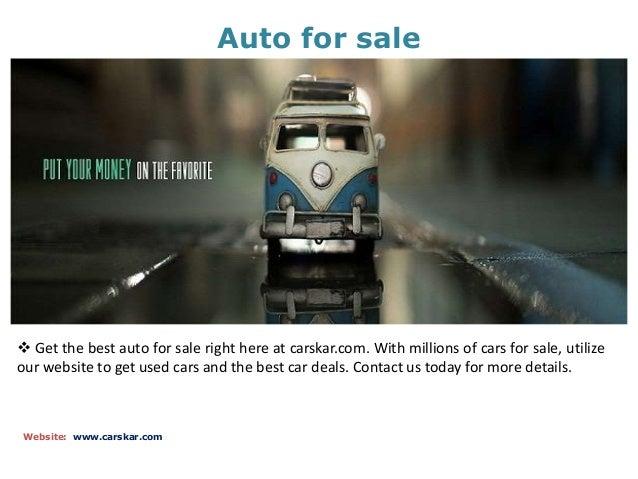 Cars for sale Slide 2
