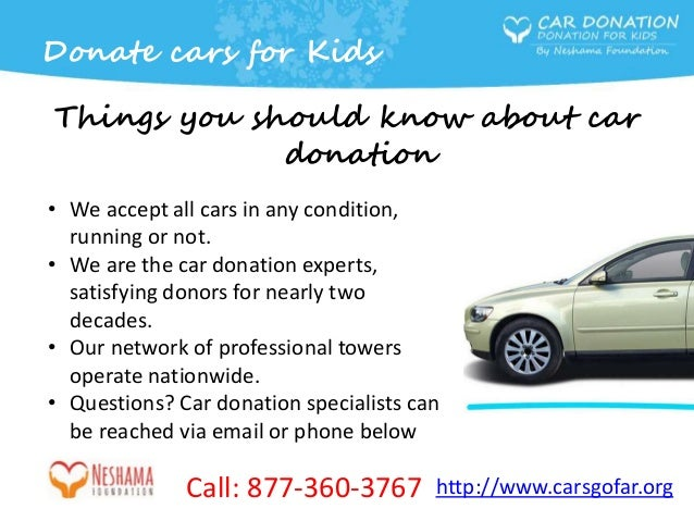 Donate Your Car Or Any Other Vehicle