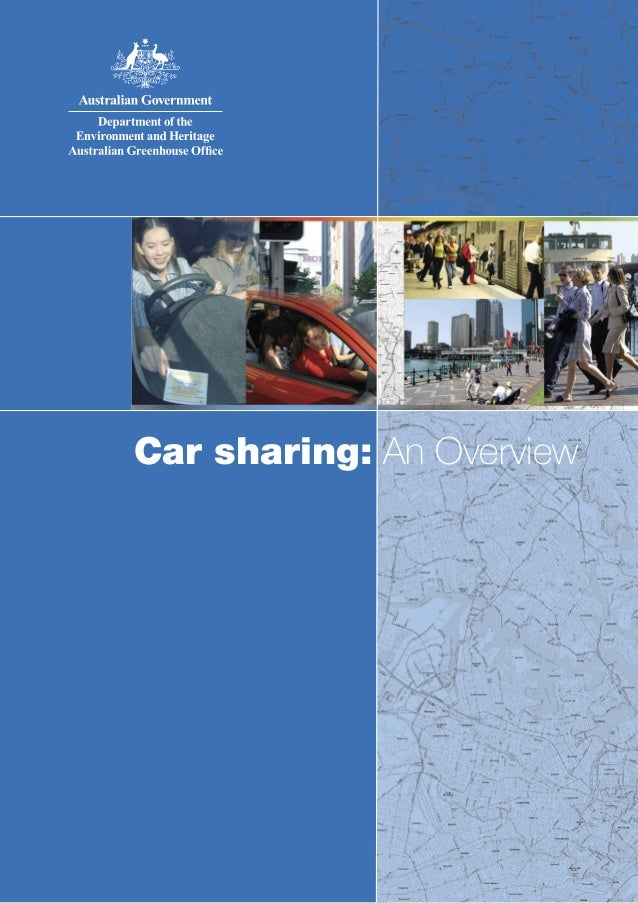 Car sharing: An Overview