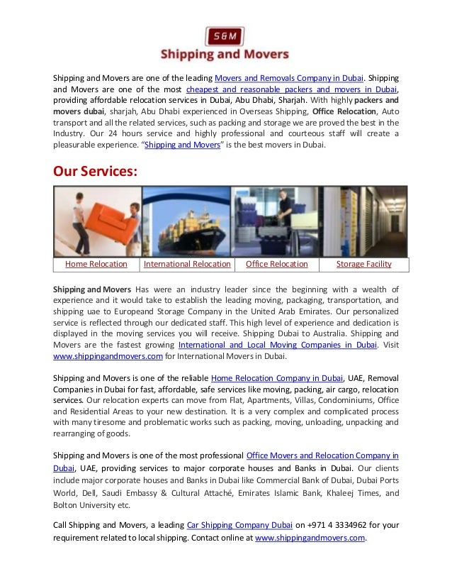 Car Shipping Company Dubai