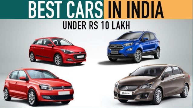 List Of Cars >> List Of Cars In India Under 10 Lakh With Price