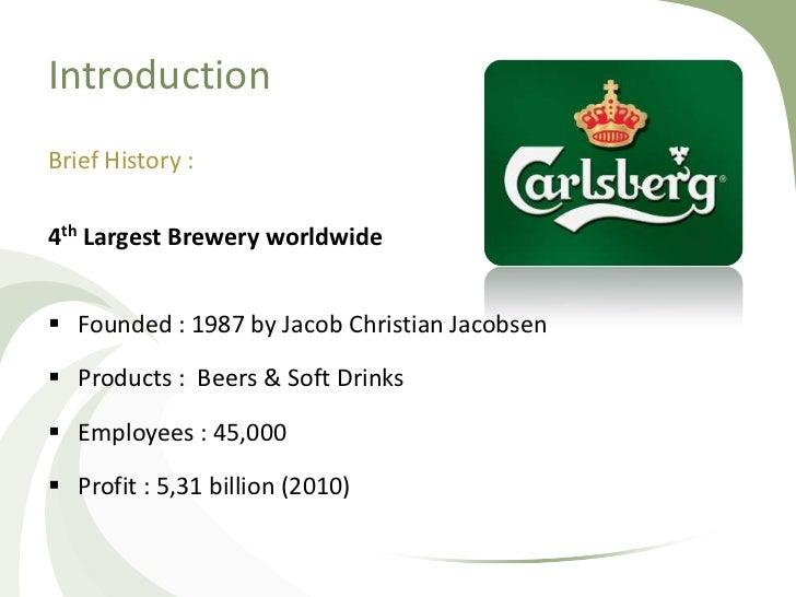 Carslberg Case Study Presentation Slide 2