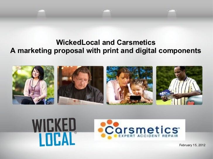 Carsmetics marketing proposal