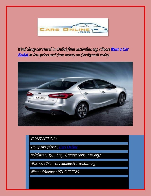 Cheap Car Leasing >> Car Lease At Lowest Rates In Dubai