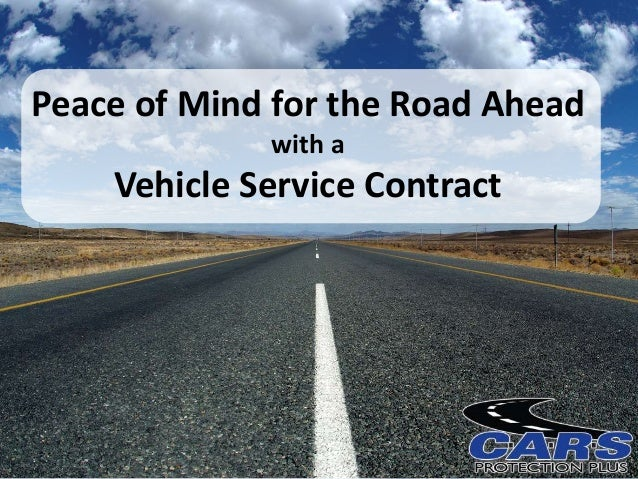 Peace of Mind for the Road Ahead with a Vehicle Service Contract