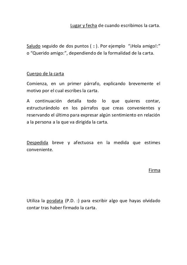 Ejemplo De Carta Formal Escribir Una Carta Formal Sokolvineyard Com