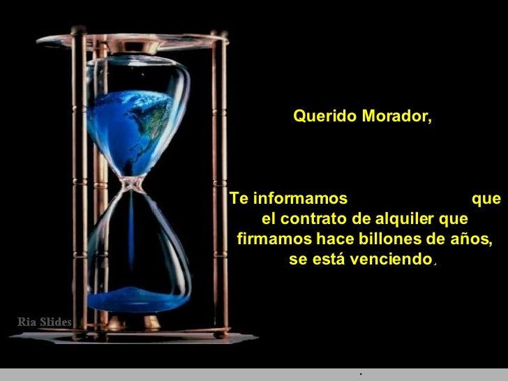 Querido Morador,  Te informamos  que el contrato de alquiler que firmamos hace billones de años, se está venciendo .   .