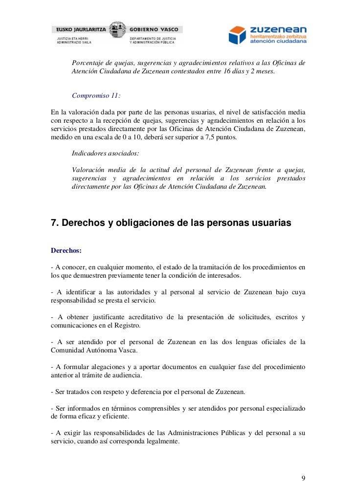 carta de servicios zuzenean 2012 pdf