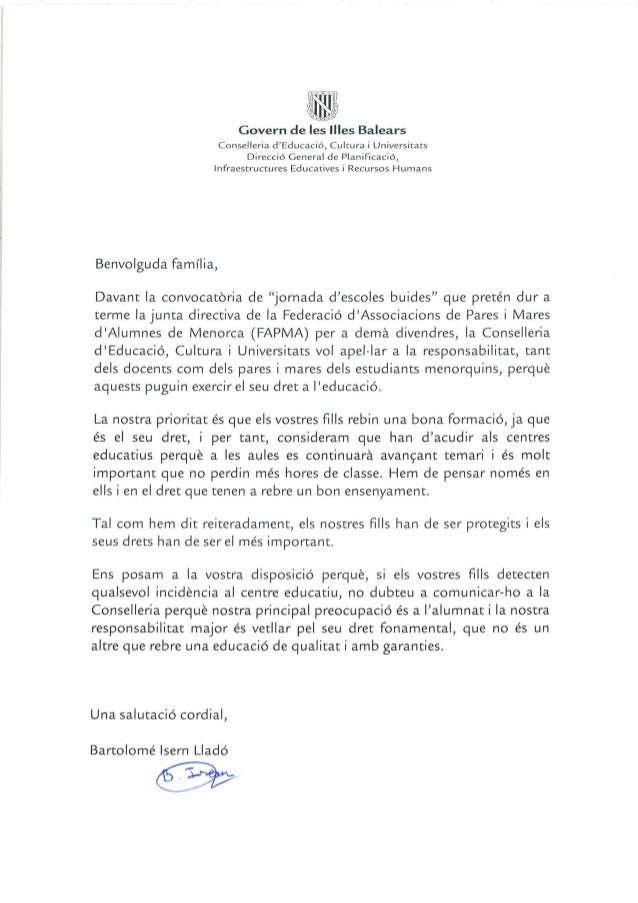 Carta familias-carta-families