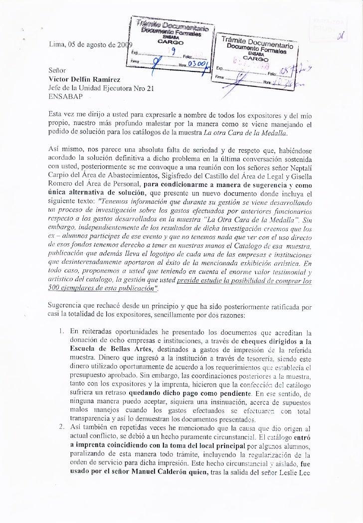 Carta a Víctor Delfín 3