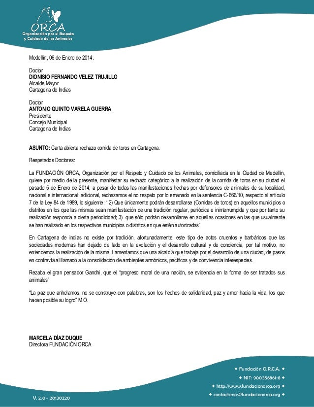Medellín, 06 de Enero de 2014. Doctor DIONISIO FERNANDO VELEZ TRUJILLO Alcalde Mayor Cartagena de Indias Doctor ANTONIO QU...