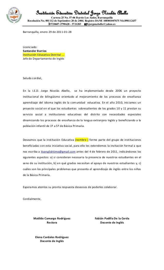 solicitud a colegios prestaci u00d3n servicio social 2011