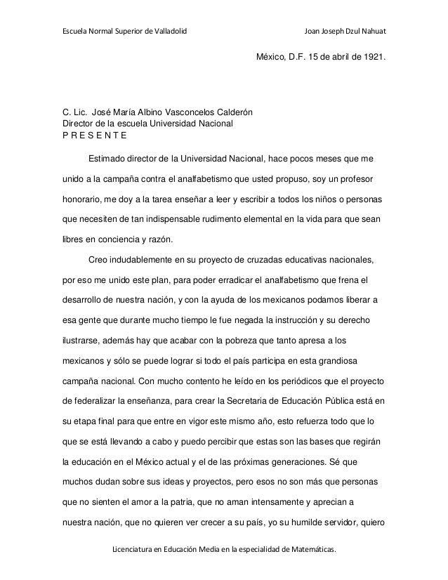Escuela Normal Superior de Valladolid                                 Joan Joseph Dzul Nahuat                             ...