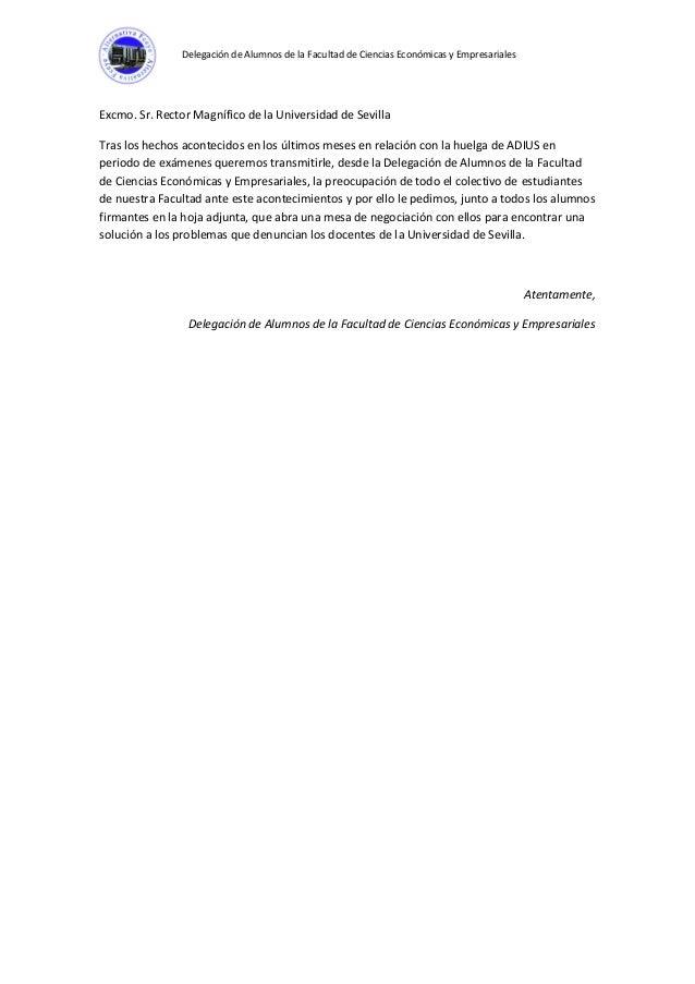 Carta al rector de la universidad de sevilla thecheapjerseys Choice Image
