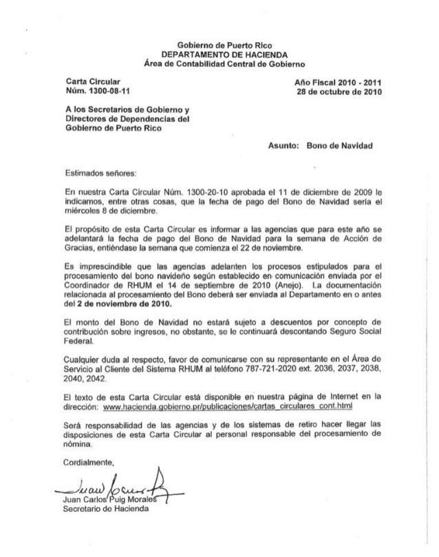 Carta circular 1300 08-11- Bono de navidad