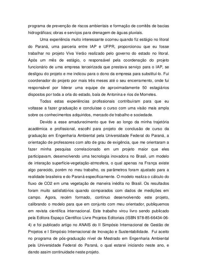 Carta apresentacao estagio