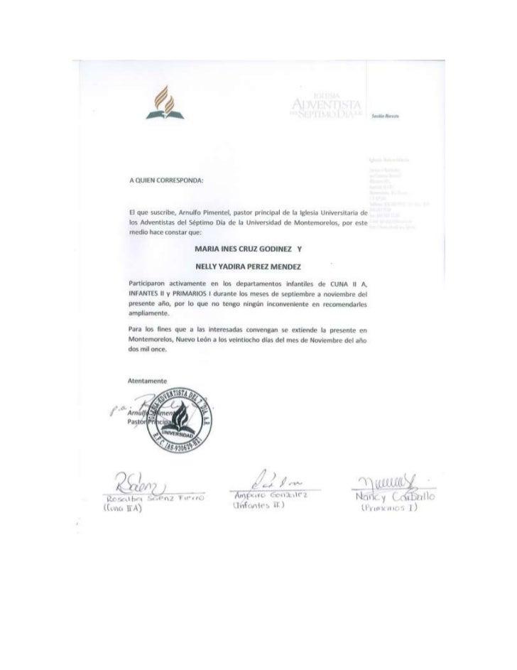 Carta de participación en los departamentos