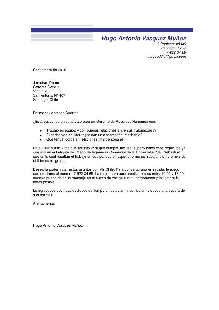Bonito Ejemplo Currículum Carta De Presentación Ingeniero Ideas ...
