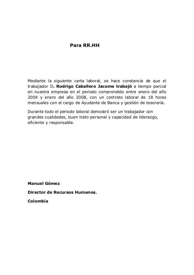 carta de recomendacion de fundacion san felipe cartas de referencia