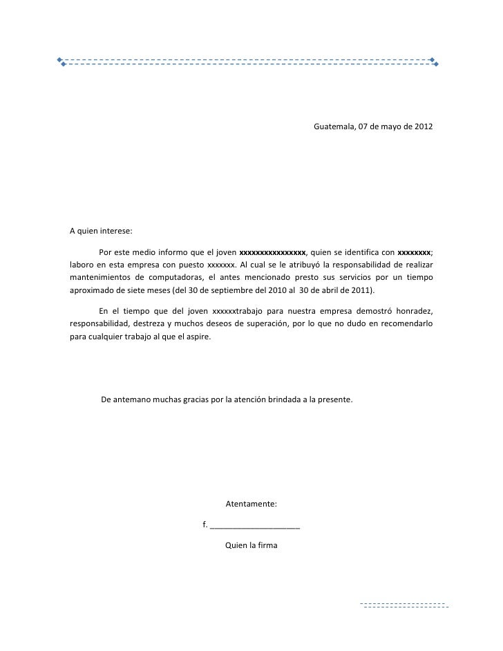 cartas de referencia laboral military bralicious co