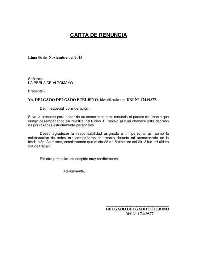 Carta de renuncia 01