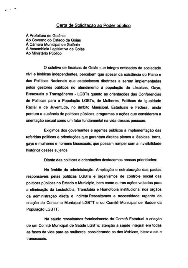 Carta de solicitação_ao_poder_público -rede lesbica-go