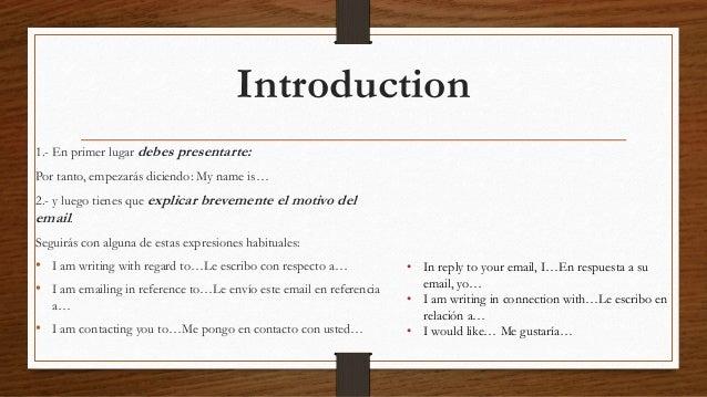 Como Escribir Una Email Formal En Ingles