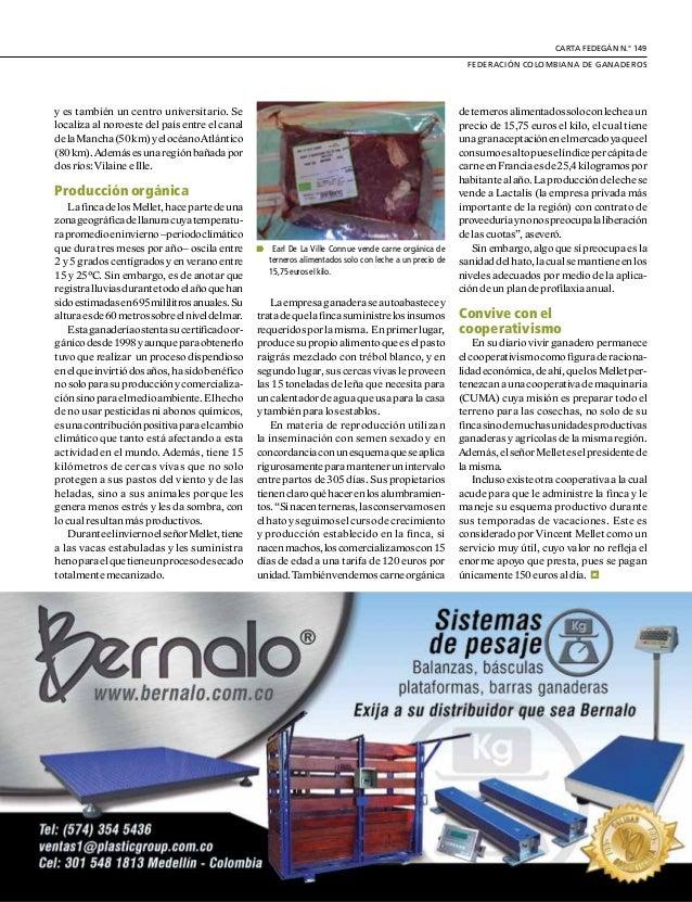 DE GREMIOS Y REGIONES 14 U n empresa que produce 650.000 litrosdelechealaño,generayvende energía y centra su producción en...