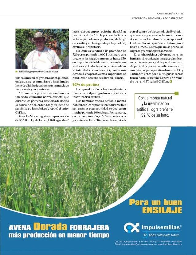 DE GREMIOS Y REGIONES 24 E sta ganadería merece ser estudiada conatenciónensusmásmínimosde- talles de producción, para com...